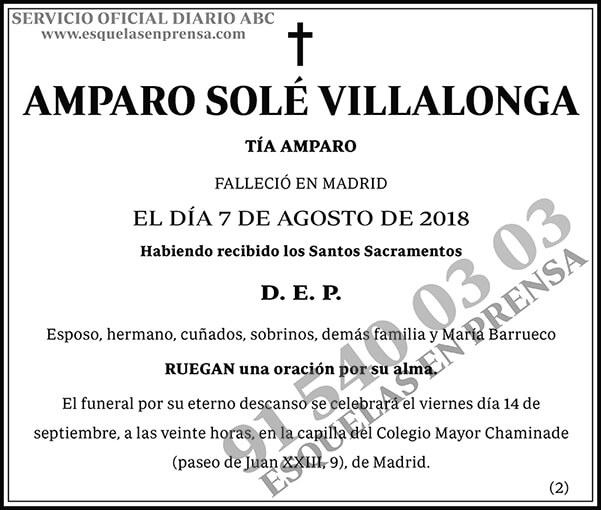 Amparo Solé Villalonga